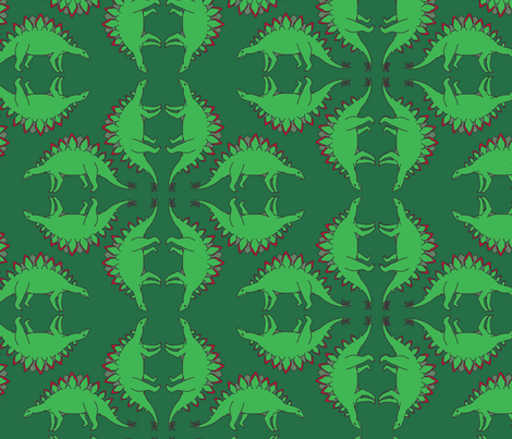 A Stego Holiday fabric by eronel on Spoonflower - custom fabric