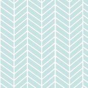 Mint Arrow Feather pattern