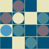 Retro Spots BLUE