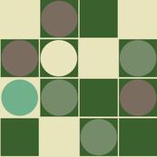 Retro Spots GREEN
