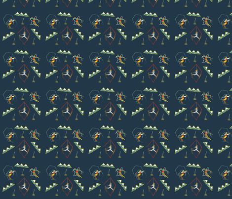 Retro_Skiing fabric by ashley_anderson on Spoonflower - custom fabric