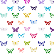 Colorful Butterfly pattern