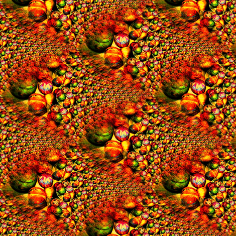 Flowing Gourds fabric by mugglz on Spoonflower - custom fabric
