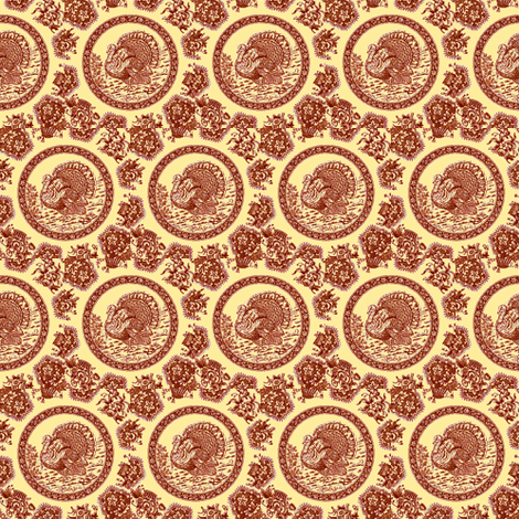 Brown Rondo Alla Turkey fabric by amyvail on Spoonflower - custom fabric