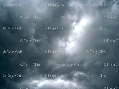Sunbeam through the Storm Clouds