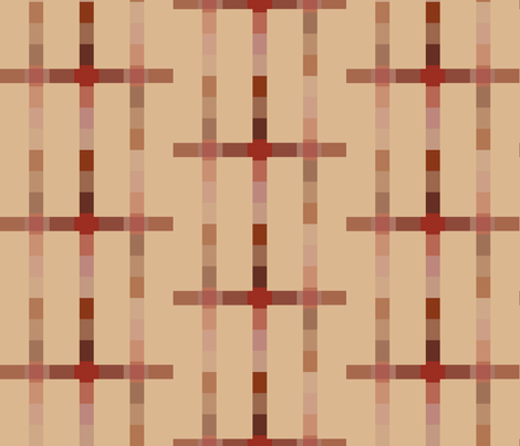 Latticed Warmth fabric by anniedeb on Spoonflower - custom fabric