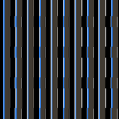 Medium Blue City Stripe