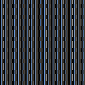 Small Blue City Stripe