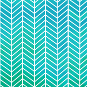Turquoise Arrow Feather pattern