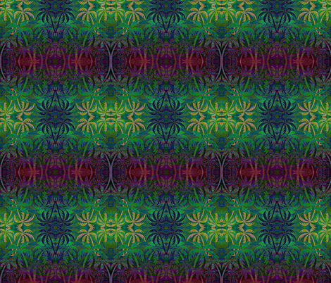 Tropical Palms fabric by guylas_coastal_creations on Spoonflower - custom fabric