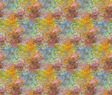 scatter fabric by nerdlypainter on Spoonflower - custom fabric