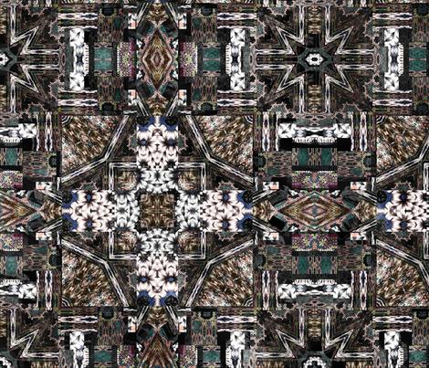 pleated fabric by kociara on Spoonflower - custom fabric