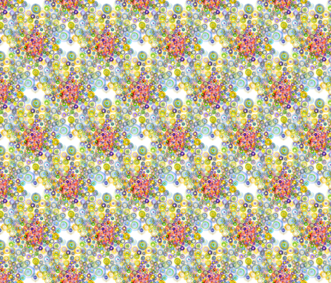 concavity_bright fabric by nerdlypainter on Spoonflower - custom fabric