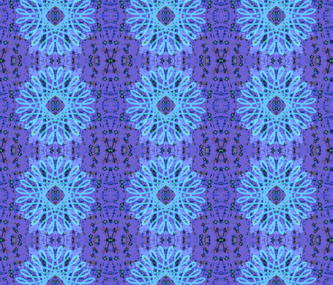 Mandala Star- Peace fabric by tequila_diamonds on Spoonflower - custom fabric