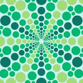 02637668 : mandala 12* : still green waters