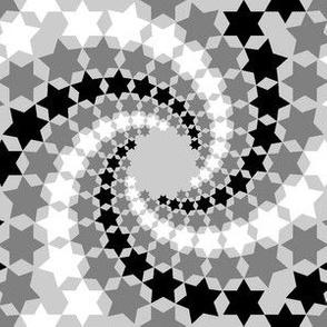 02638410 : mandala 12~ : swirling stars