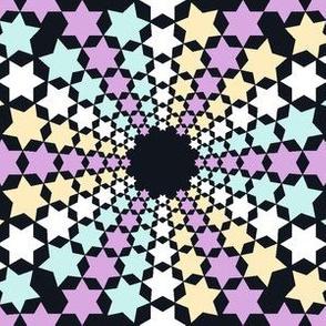02638663 : mandala 12* : stars upon stars