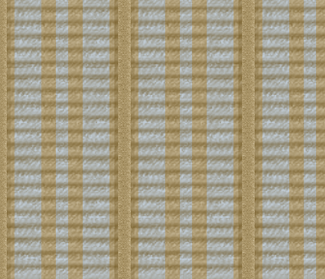 Grosgrain Ribbon ~ Striped Gilt and Versailles Fog  fabric by peacoquettedesigns on Spoonflower - custom fabric