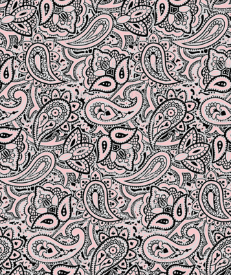 Persnickety Paisley ~ Dauphine, Blackmail And Silver Leaf