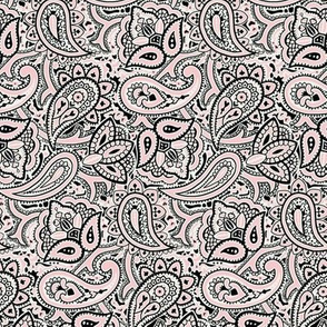 Persnickety Paisley ~ Dauphine, Blackmail And White