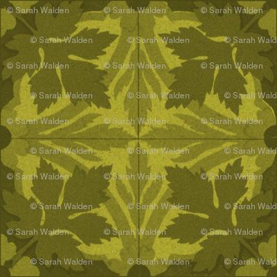 Summer Leaves ~ Tiles