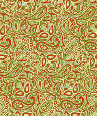 Persnickety Paisley ~ Christmas