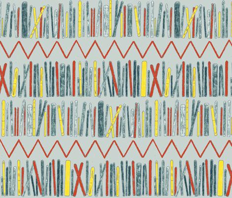 Rack 'em up fabric by idaho13 on Spoonflower - custom fabric