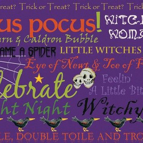 Witchy Woman Fright Type