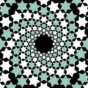 02641065 : mandala 12~ : spiralling stars