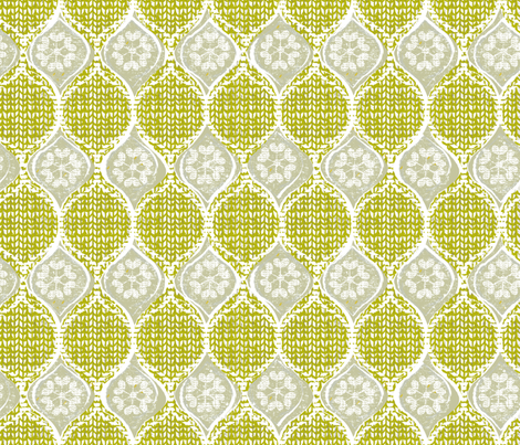 snowflake sweater fabric by ottomanbrim on Spoonflower - custom fabric