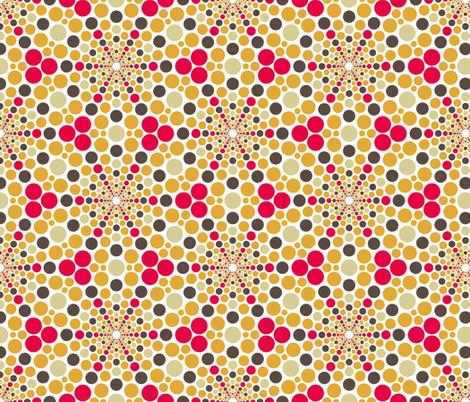 02641309 : mandala 12* : radiating hot spots fabric by sef on Spoonflower - custom fabric