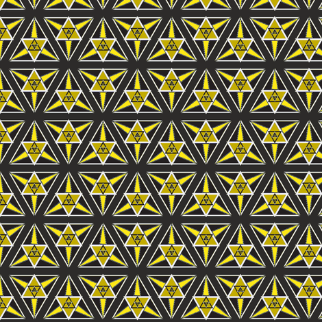 geometric gold fabric by eronel on Spoonflower - custom fabric