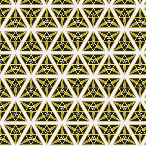 geometric gold2 fabric by eronel on Spoonflower - custom fabric
