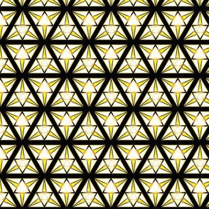 geometric goldflare