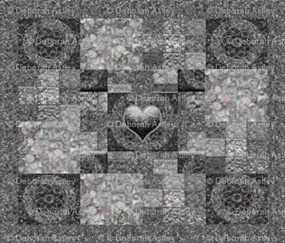Castle Gray  Checkerboard