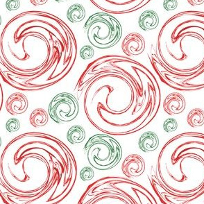 Peppermint Swirl Toss Red