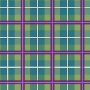 Iris coordinate teal/green