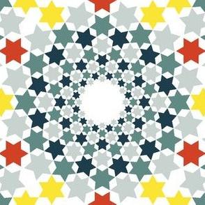 02641885 : mandala 12 : tipped starburst