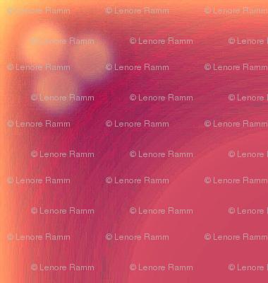 eronel's rosy orange plaid
