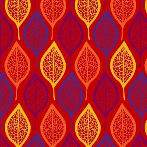 Skeleton Leaves - Fiesta