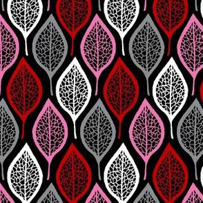Skeleton Leaves - Black Cherry