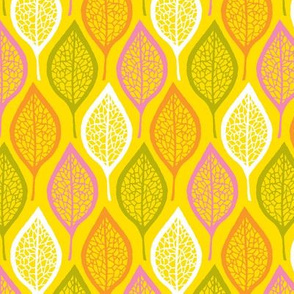 Skeleton Leaves - Sunny