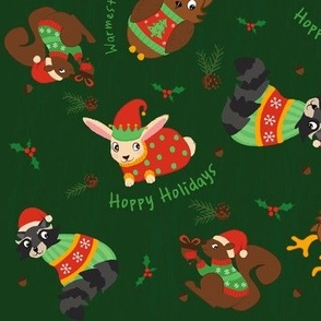 Cozy Christmas Critters