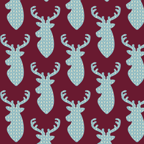 Sweater_Stag fabric by taylord on Spoonflower - custom fabric