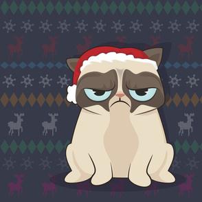 Grumpy Cat hates Christmas