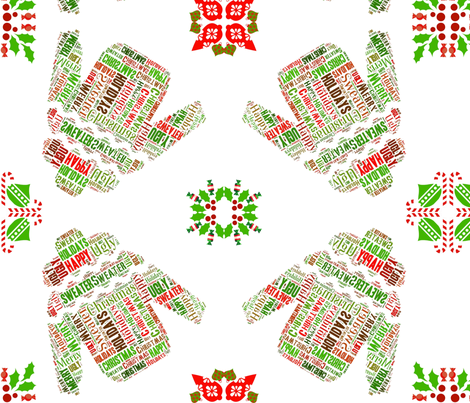 Ugly Sweaters fabric by kfrogb on Spoonflower - custom fabric