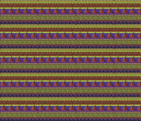 Pretty_Little_Witches_Stripe fabric by kelly_a on Spoonflower - custom fabric