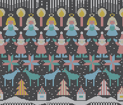 21st Century Digital Sweater fabric by christinewitte on Spoonflower - custom fabric