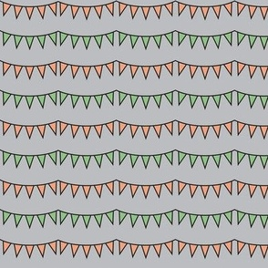 Happy Camper Pennant Horizontal