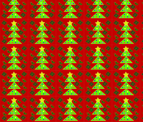Merry Christmas Ya Filthy Animal fabric by taylordawn on Spoonflower - custom fabric